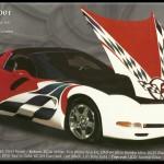 Corvette - 2001 HOUSE OF KOLOR Prestigious Painter of The Year Award