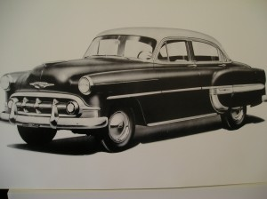 1953 Chevy Sedan