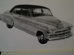 1950 Chevy Sedan