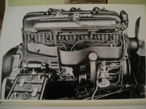 1953 Blue Flame Engine